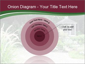 Kiosk In Garden PowerPoint Template - Slide 61