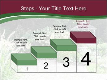 Kiosk In Garden PowerPoint Template - Slide 64