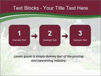 Kiosk In Garden PowerPoint Template - Slide 71