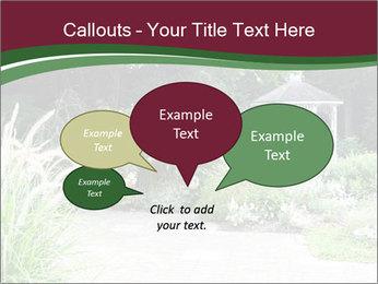 Kiosk In Garden PowerPoint Templates - Slide 73