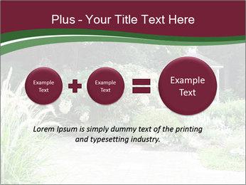Kiosk In Garden PowerPoint Template - Slide 75