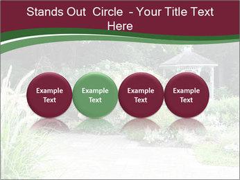 Kiosk In Garden PowerPoint Template - Slide 76