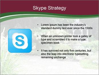 Kiosk In Garden PowerPoint Template - Slide 8