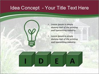 Kiosk In Garden PowerPoint Templates - Slide 80