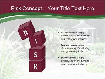 Kiosk In Garden PowerPoint Templates - Slide 81