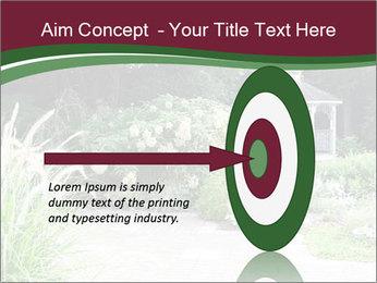 Kiosk In Garden PowerPoint Template - Slide 83