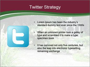 Kiosk In Garden PowerPoint Template - Slide 9