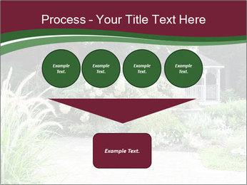 Kiosk In Garden PowerPoint Template - Slide 93