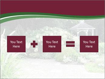 Kiosk In Garden PowerPoint Template - Slide 95