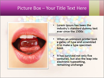 Candy Lips PowerPoint Template - Slide 13