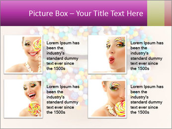 Candy Lips PowerPoint Template - Slide 14