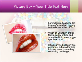 Candy Lips PowerPoint Template - Slide 20