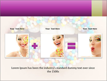 Candy Lips PowerPoint Template - Slide 22