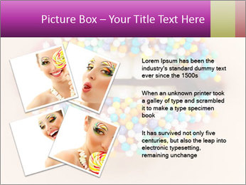 Candy Lips PowerPoint Template - Slide 23