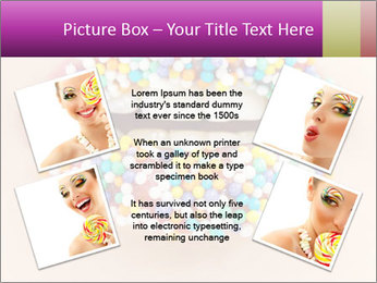 Candy Lips PowerPoint Template - Slide 24