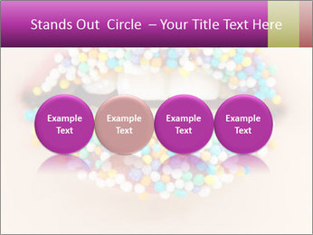 Candy Lips PowerPoint Template - Slide 76
