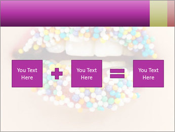 Candy Lips PowerPoint Template - Slide 95