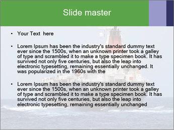 Oil Tanker PowerPoint Template - Slide 2