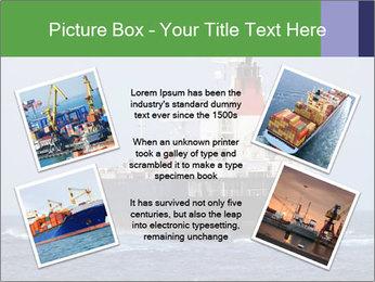 Oil Tanker PowerPoint Template - Slide 24