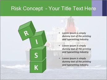 Oil Tanker PowerPoint Template - Slide 81