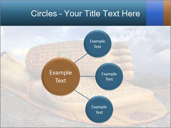 Buddha Feet PowerPoint Templates - Slide 79