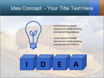 Buddha Feet PowerPoint Templates - Slide 80