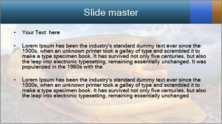 Buddha Feet PowerPoint Template - Slide 2