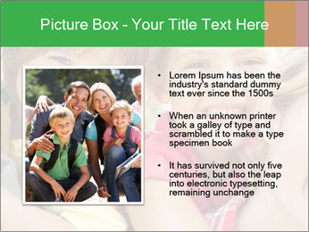 Smiling Family With Kids PowerPoint Template - Slide 13