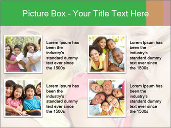 Smiling Family With Kids PowerPoint Template - Slide 14