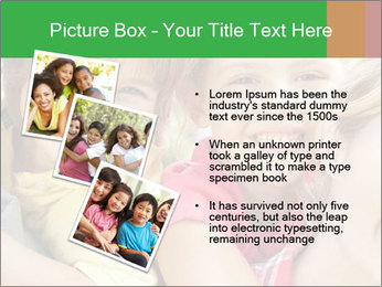 Smiling Family With Kids PowerPoint Template - Slide 17