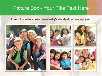 Smiling Family With Kids PowerPoint Template - Slide 19