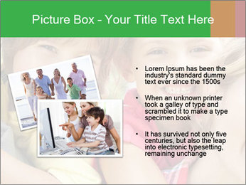 Smiling Family With Kids PowerPoint Template - Slide 20