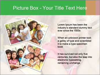 Smiling Family With Kids PowerPoint Template - Slide 23