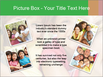 Smiling Family With Kids PowerPoint Template - Slide 24