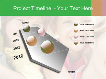 Smiling Family With Kids PowerPoint Template - Slide 26