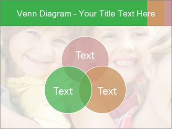 Smiling Family With Kids PowerPoint Template - Slide 33