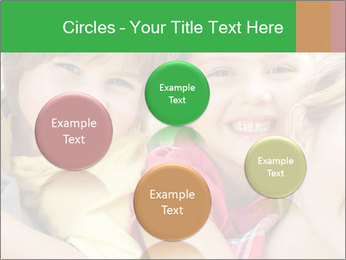Smiling Family With Kids PowerPoint Template - Slide 77