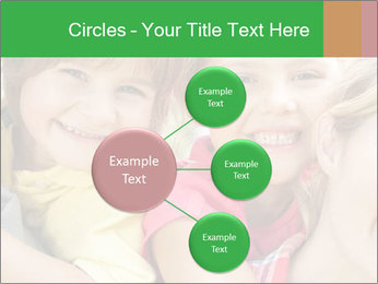 Smiling Family With Kids PowerPoint Template - Slide 79