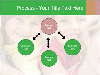 Smiling Family With Kids PowerPoint Template - Slide 91