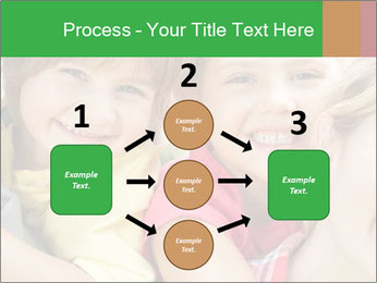 Smiling Family With Kids PowerPoint Template - Slide 92