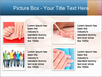 Perfectly Manicured Hands PowerPoint Template - Slide 14