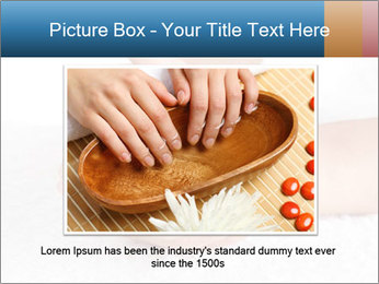 Perfectly Manicured Hands PowerPoint Template - Slide 16