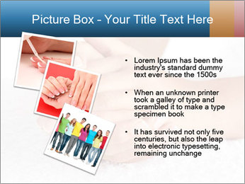 Perfectly Manicured Hands PowerPoint Template - Slide 17