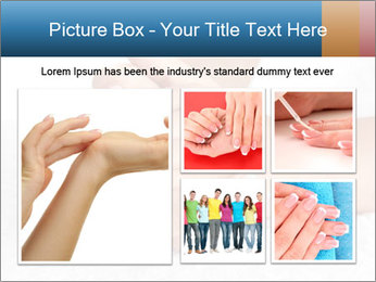 Perfectly Manicured Hands PowerPoint Template - Slide 19