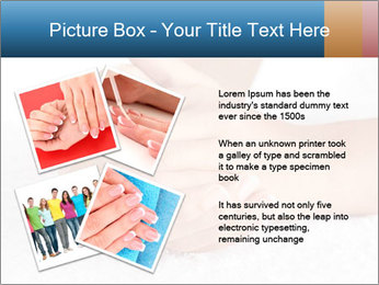 Perfectly Manicured Hands PowerPoint Template - Slide 23