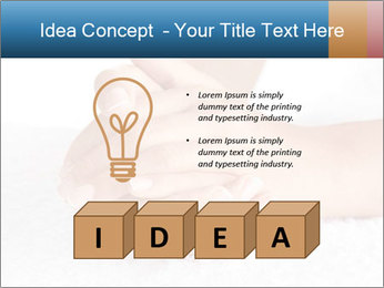 Perfectly Manicured Hands PowerPoint Template - Slide 80
