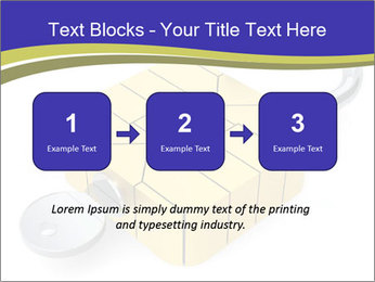 Yellow Lock PowerPoint Template - Slide 71