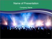 Live Music Festival PowerPoint Templates