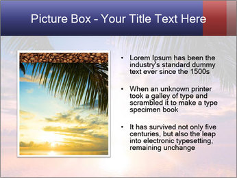 Bright Sun And Coconut Tree PowerPoint Template - Slide 13