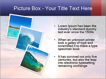 Bright Sun And Coconut Tree PowerPoint Template - Slide 17
